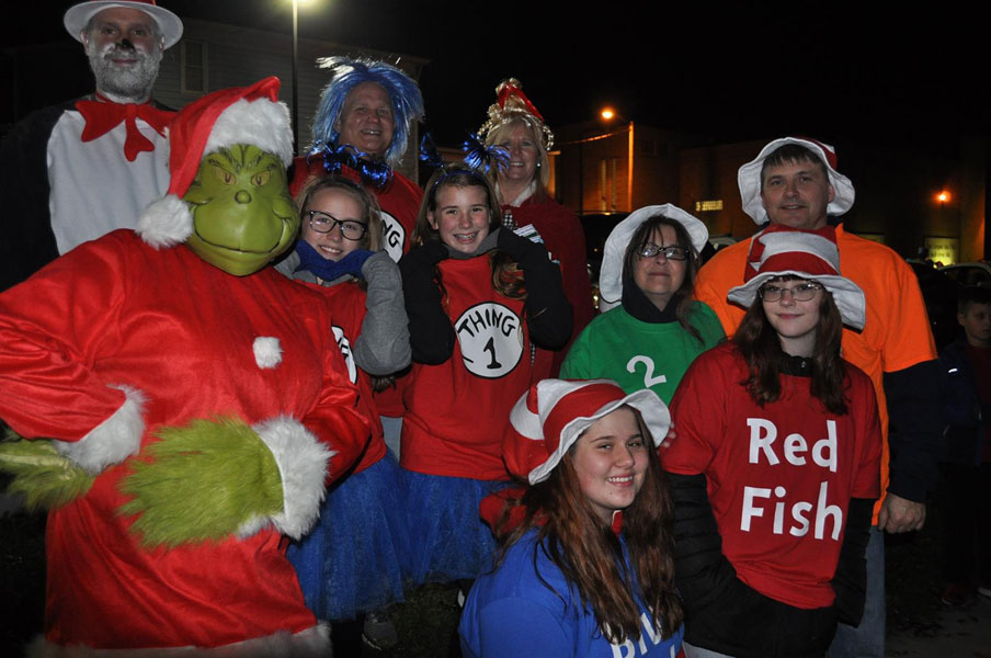 Dr. Seuss characters came to life in East Liverpool
