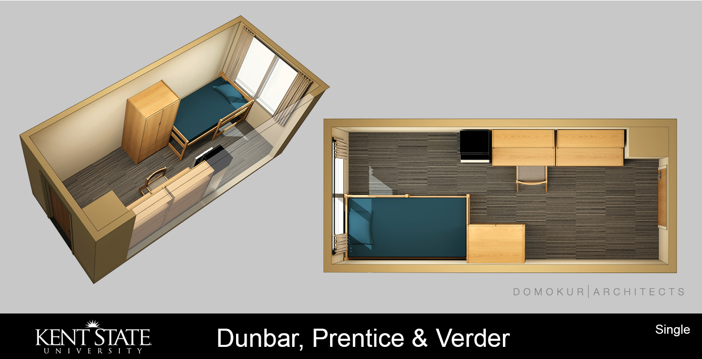 View the Dunbar, Prentice, and Verder Single room diagram in high resolution