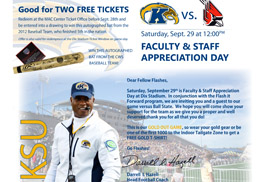 Kent State faculty and staff are invited to Faculty and Staff Appreciation Day on Sept. 29 at noon at Dix Stadium.