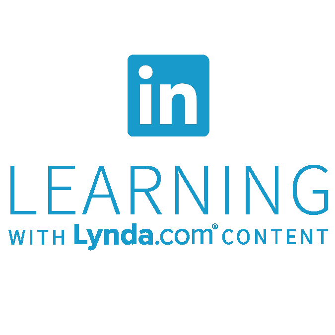 Blue LinkedIn Learning Logo