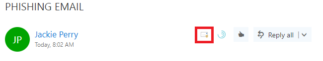 Outlook Web App Message Details