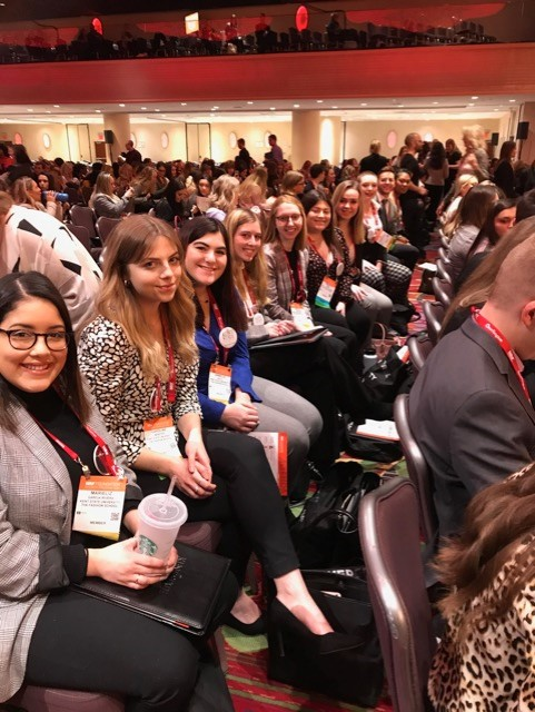 Kent State Students attend the 2020 NRF Foundation Student Program