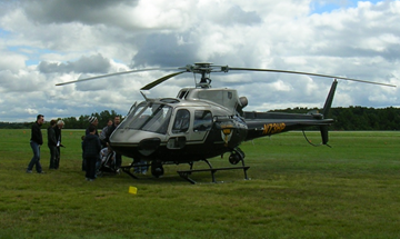 Eurocopter AS-350B AStar, Ohio State Highway Patrol