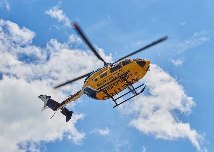 photo Eurocopter EC-145, Metro Health