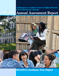 2015 Annual Assessment Report Cover