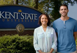 """Members of the Kent State community, including students, employees and alumni, appeared in the university's """"Experience for Life"""" television campaign. Kent State won a Gold SABRE Award for the campaign at the Americas 2013 SABRE Awards."""