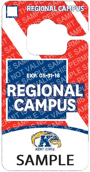 Regional Campus Faculty/Staff Permit