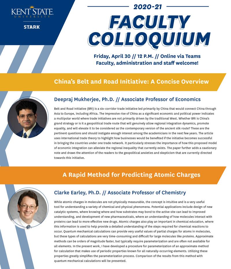 Faculty Colloquium April 30 2021