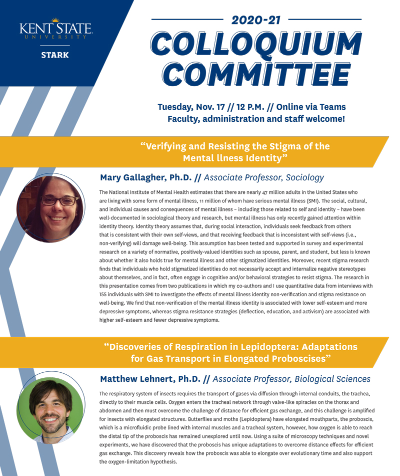 Faculty Colloquium Nov 2020