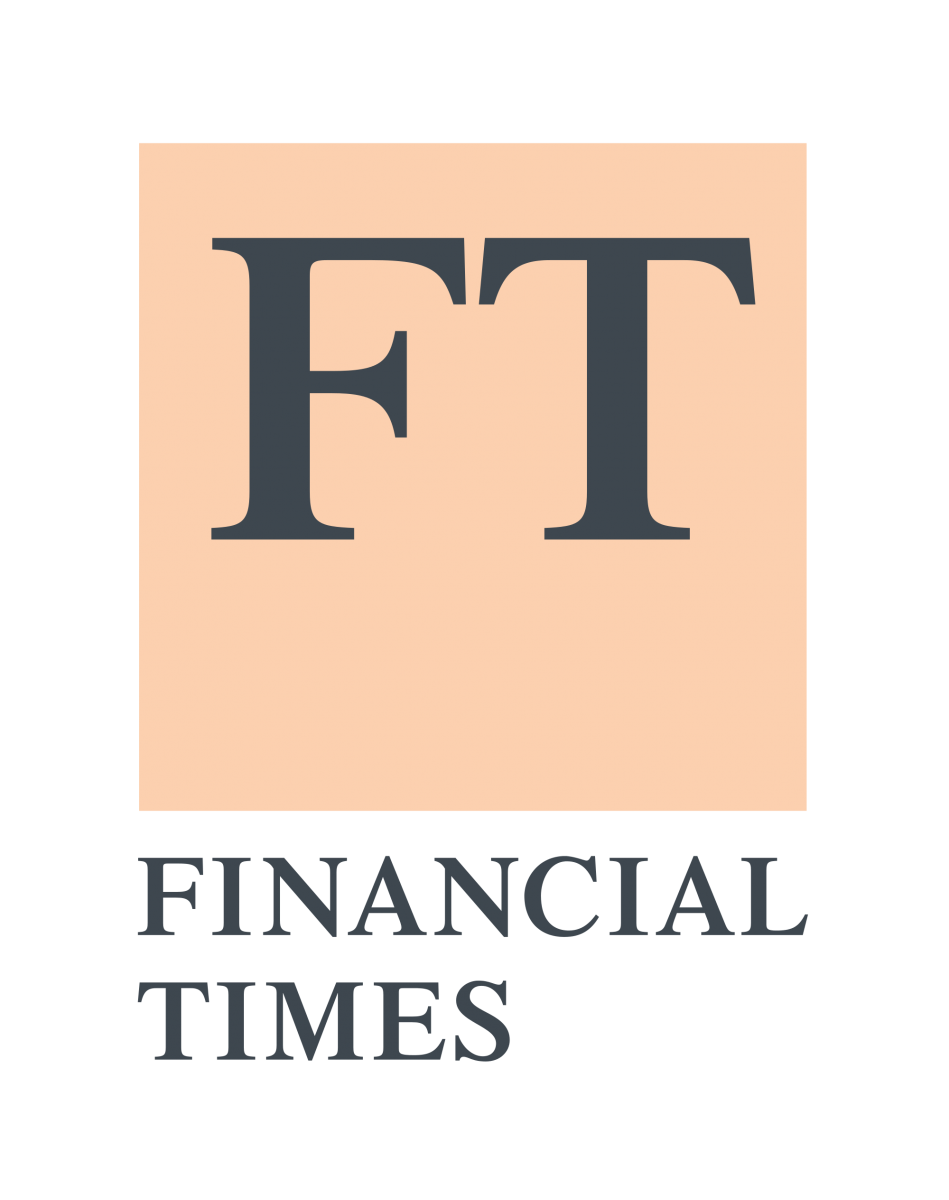 The Financial Times logo; links to the Financial Times website