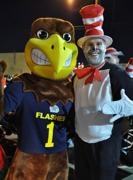 Flash and The Cat in the Hat