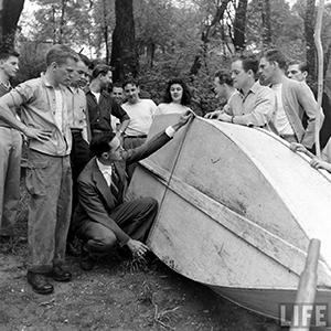 Rowboat Regatta, LIFE Archives