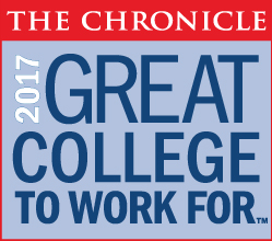 Logo for 2017 Great College to Work For