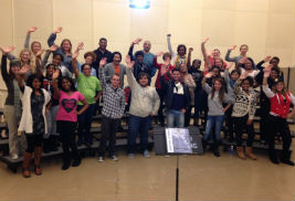The Kent State University Gospel Choir's concert will take place Dec. 6 at the University Auditorium at Cartwright Hall.
