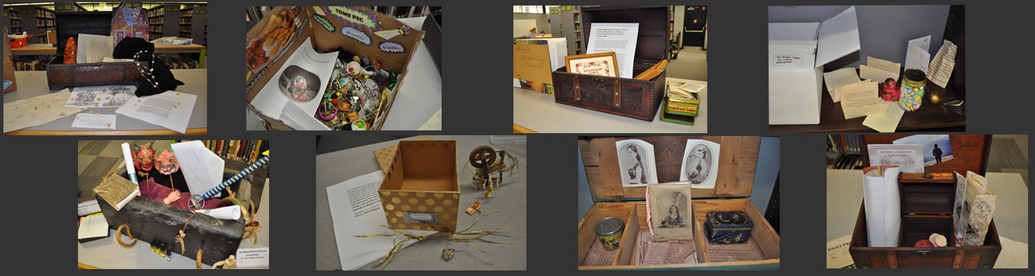 Salem Students Create Discovery Boxes for Children's Lit Class