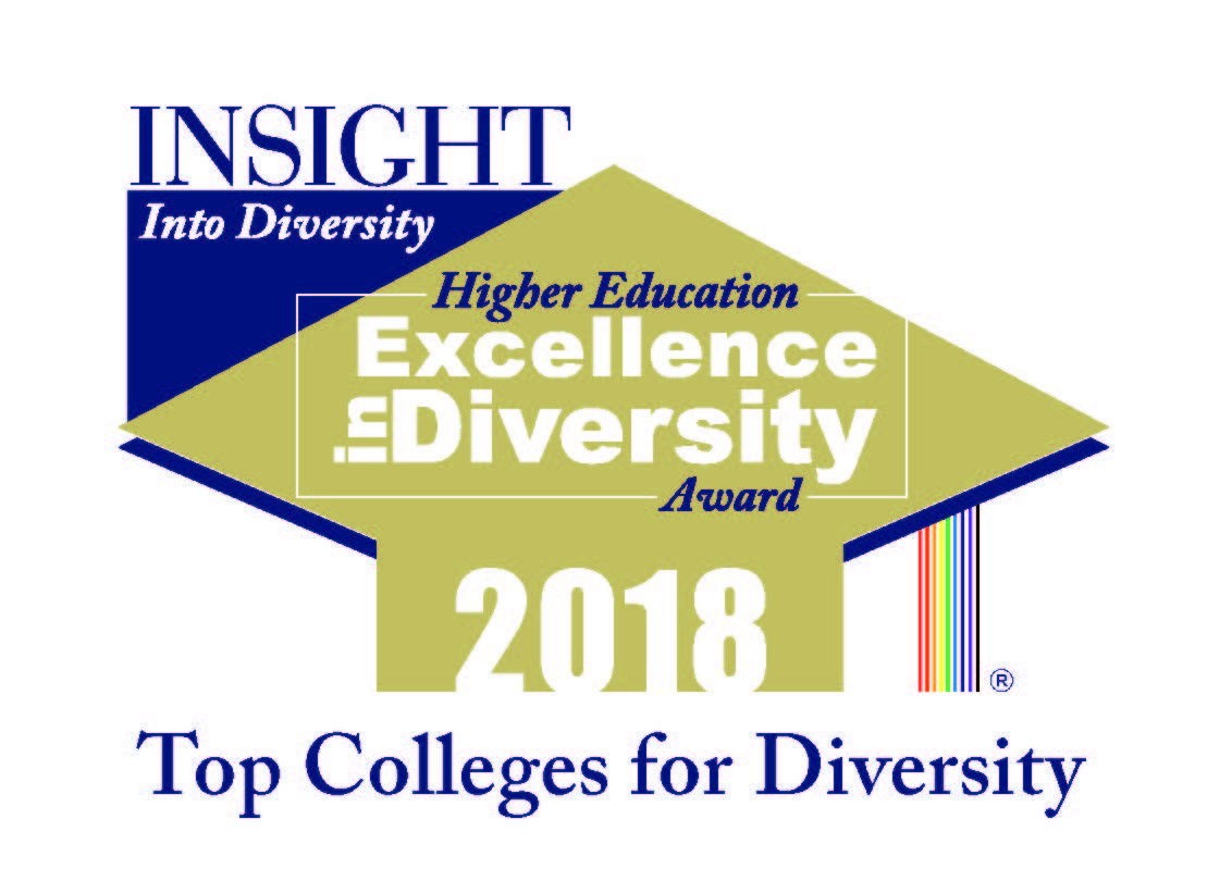 Insight into diversity Higher Education Excellence in Diversity Award 2018. Top Colleges for Diversity