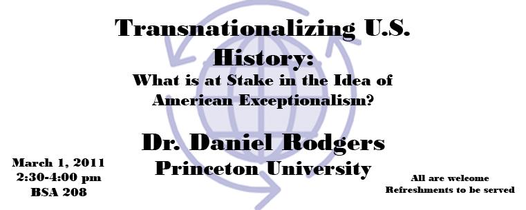 Transnationalizing U.S. History