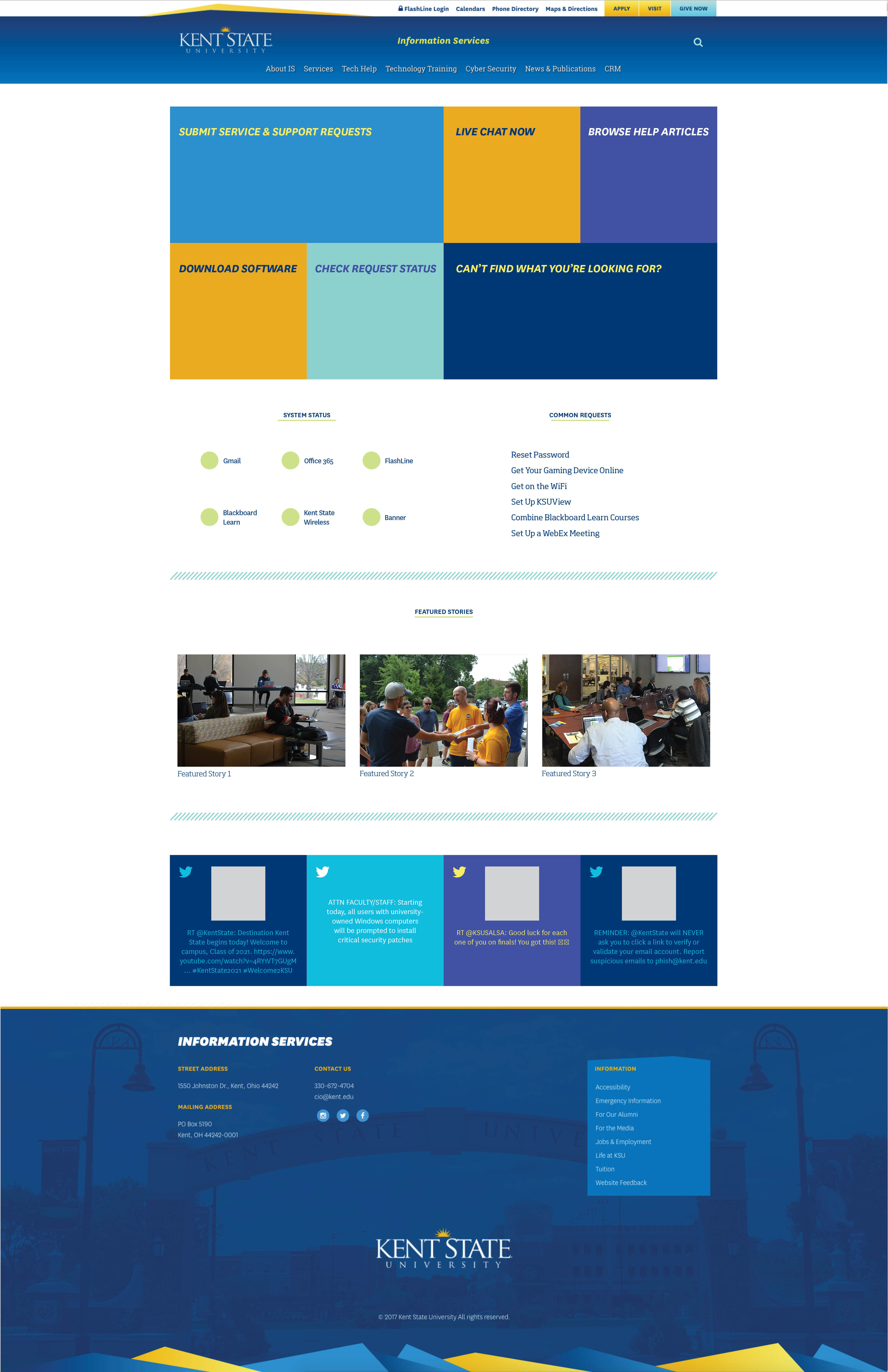 Proposed home page redesign