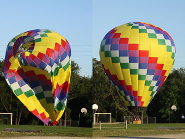 Hot Air Balloons, Fun Makers/Heaven Bound Ascensions