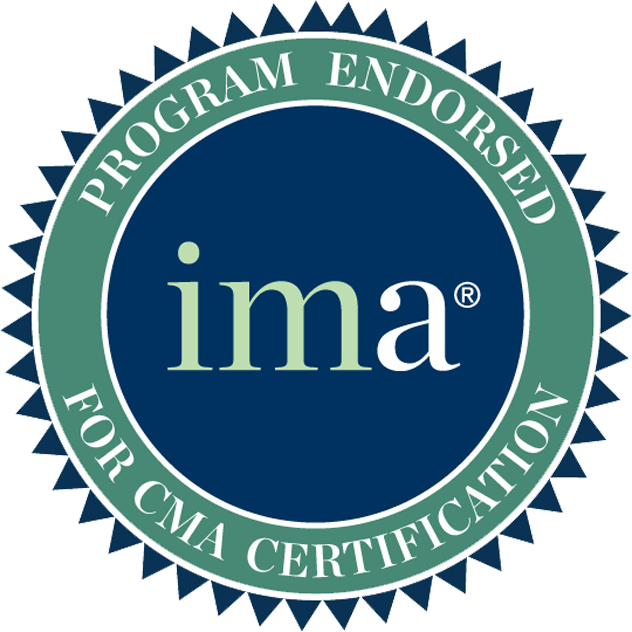 IMA accreditation seal.