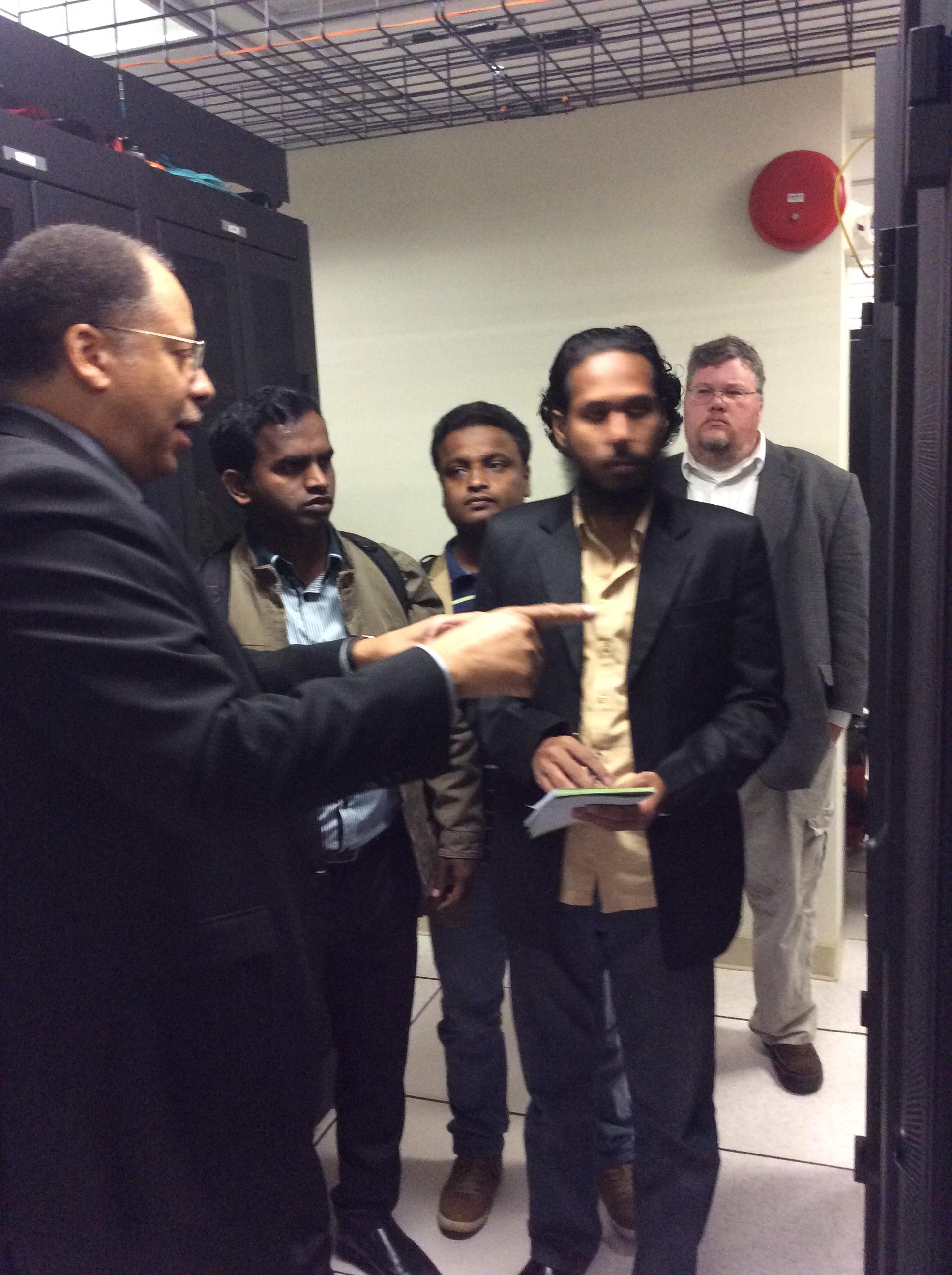 BdREN Engineers at KSU Data Center