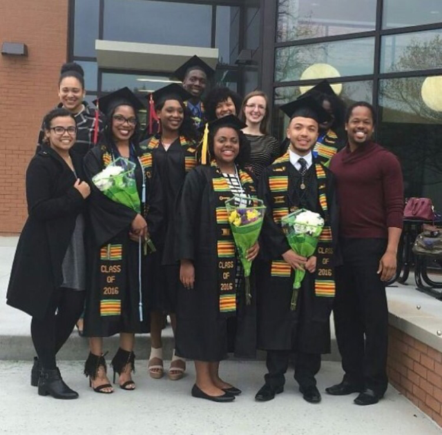 2016 McNair Graduates