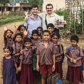 Ian McCullough in India