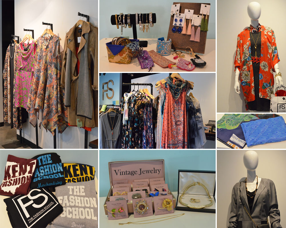 Fashion School Store just arrived collage of different items