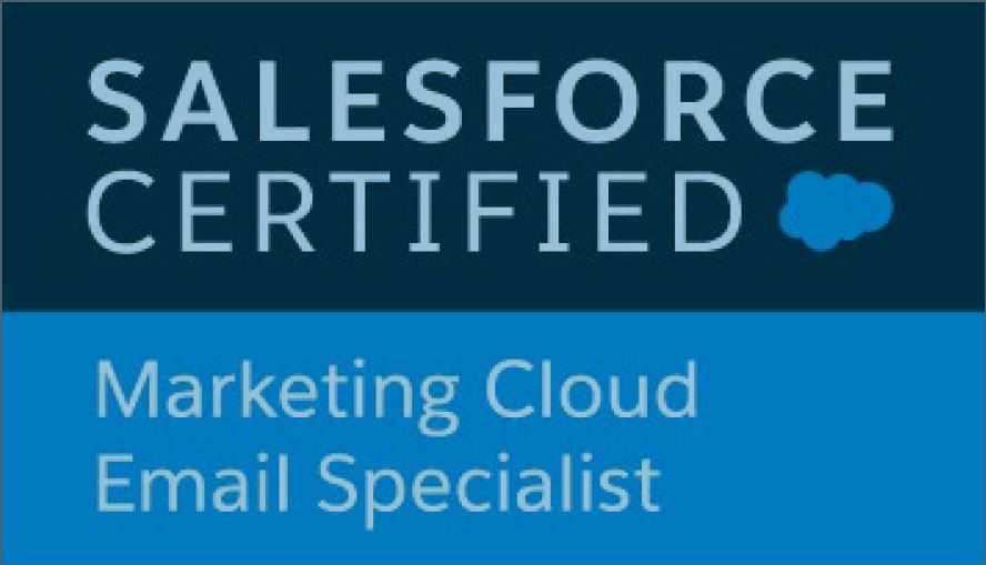 Salesforce Marketing Cloud Email Specialist Badge