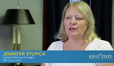 Jennifer Stupica, Human Resource Manager, SSP Corporation