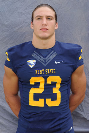 """Kent State University student-athlete Jordan Italiano was tabbed """"Smartest Player in College Football"""" by NFL.com"""