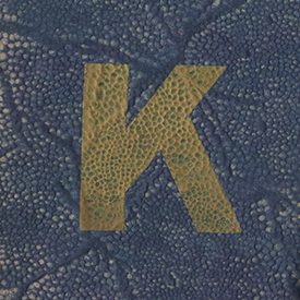 K Book cover 1928-1929