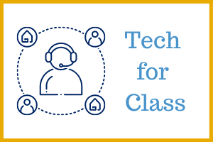 Keep On Learning - Tech for Class Technology Support Webpage Icon Image
