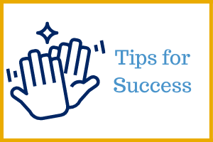 Keep On Learning - Tips for Success Webpage Icon Image