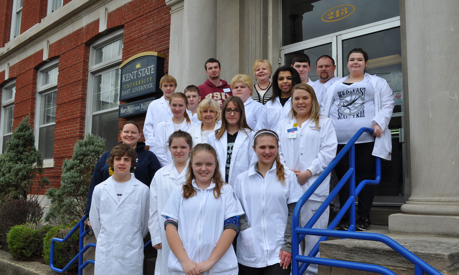 Kent State University at East Liverpool hosted a nursing boot camp for the Rural Scholars program