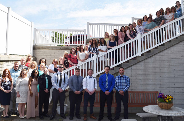 The Kent State East Liverpool ADN class of 2017