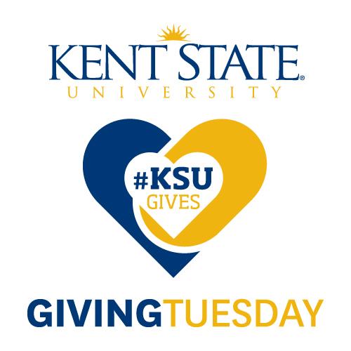 Kent State University - Giving Tuesday logo - #KSUGives
