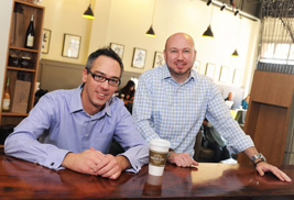 Kent State alumnus and Assistant Professor Evan Bailey co-owns Tree City Coffee & Pastry with fellow alumnus Mike Beder, owner of Water Street Tavern. Together, the two alumni are bringing new energy to downtown Kent and providing employment opportunities for Kent State students.