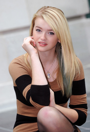 """Kent State University  student Kaci Cramer was on cycle 19 of """"America's Next Top Model."""""""