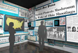 Photos that show what people looked like, what they experienced and what they cared about in the 1960s are being sought for the May 4 Visitors Center gallery at Kent State that will open this fall