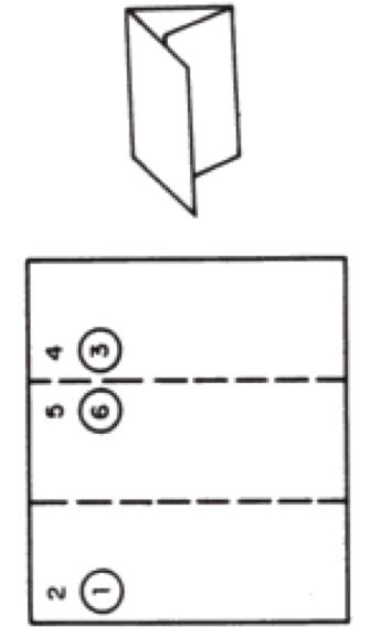 Letter Fold Mailpiece/letter