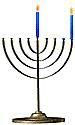 Menorah 1 Candle