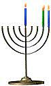 Menorah 2 Candles