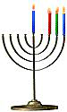 Menorah 3 Candles