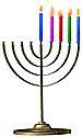 Menorah 4 candles