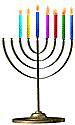 Menorah 6 Candles