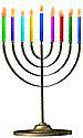 Menorah 8 candles