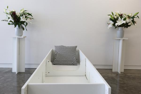 Lindsey James - DIY coffin