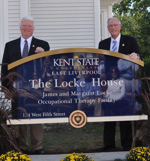 Keith and Jim Locke