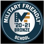 Military Friendly Bronze School 20-21